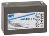 Аккумулятор Sonnenschein A504/3.5 S ( 4V 3,5Ah / 4В 3,5Ач ) - фотография