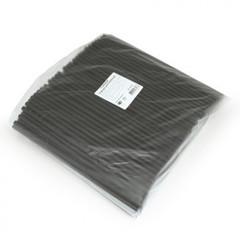 Трубочки для коктейлей Горница черные длина 24 см 250 штук в упаковке