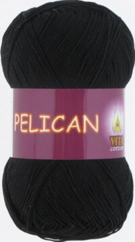 Пряжа Pelican (Vita cotton) 3952 Черный