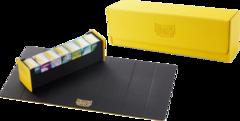 "Dragon Shield - Коврик для игры + коробка для хранения ""Magic Carpet Yellow/Black (500)"""