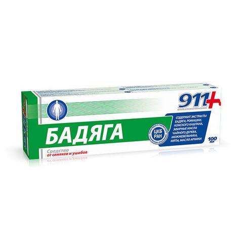 911 Гель для тела Бадяга , 100 мл