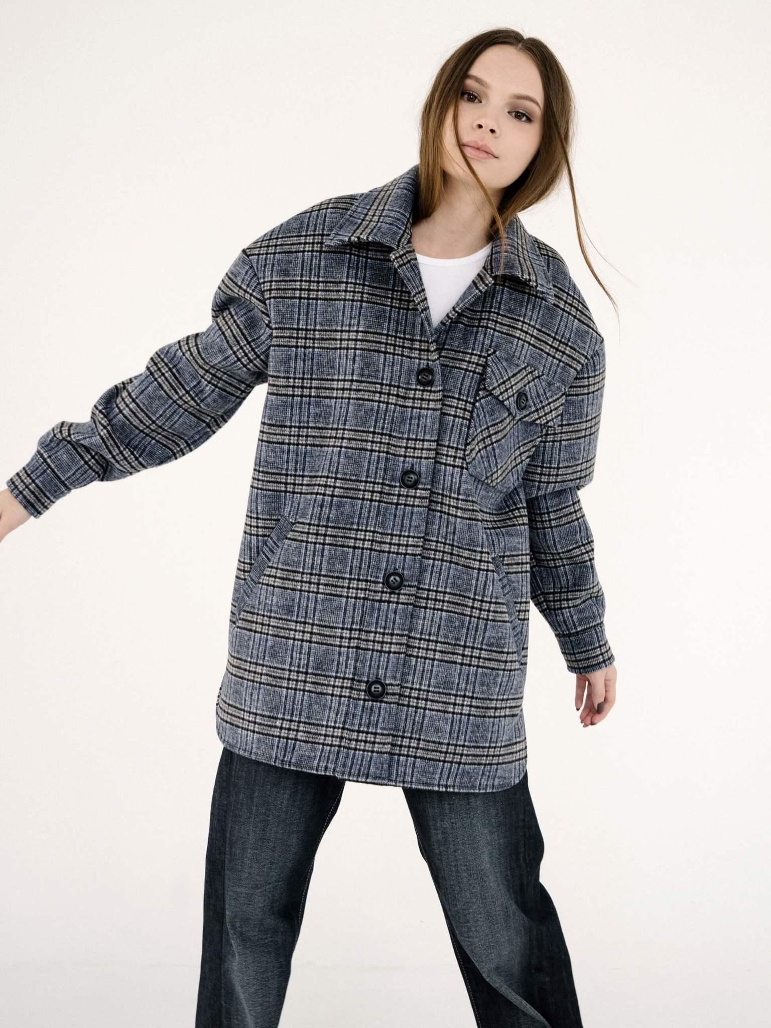 Пальто-рубашка без подклада