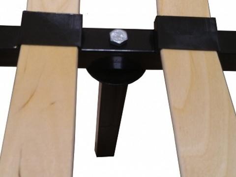 Основание металлическое неразборное Lonax Дрим (с ножками)