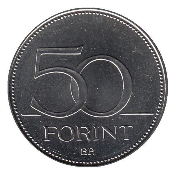 50 форинтов 2018 г.