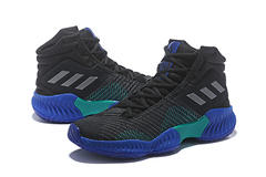 adidas Pro Bounce 2018 'Black/Blue/Green'