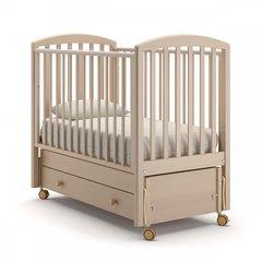 Кровать детская Дени выбеленный бук