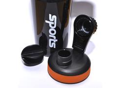 Бутылка для воды. Материал: пластик, силикон. Объём 600 ml. YY-106