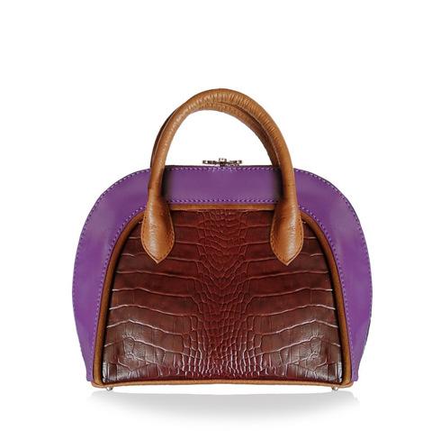 Черная кожаная сумка Alisset