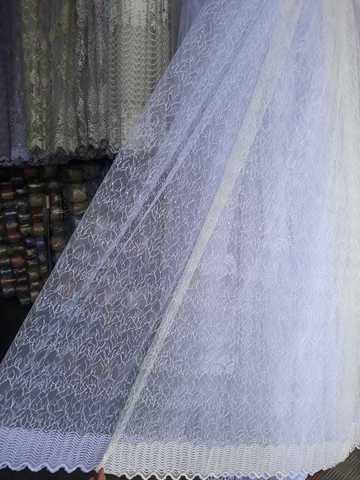 Микросетка с вышивкой  Высота- 280 см. Арт. 601-004