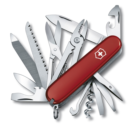 Нож Victorinox Handyman, 91 мм, 24 функции, красный123