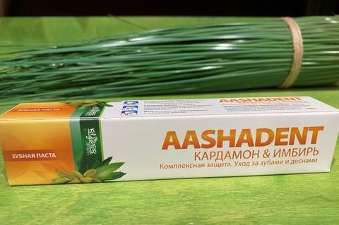 Зубная паста Кардамон/Имбирь AASHA HERBALS 100мл