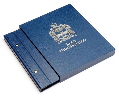 Футляр для альбомов толщиной 30 мм, цвет «Синий». Уценка