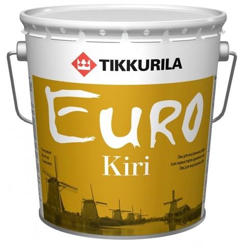 Tikkurila Euro Kiri / Тиккурила Евро Кири лак паркетный полуматовый