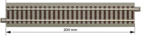G200: Прямая, geoLine - 200мм.
