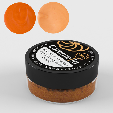 Caramella жиро-ый краситель,Оранжевый,10гр