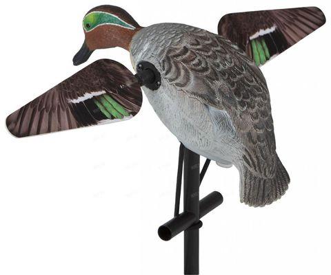 Чучело чирка Lucky Duck с вращающимися крыльями - Lucky Teal HD (селезень)