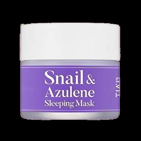 TIAM SNAIL & AZULENE SLEEPING MASK 80ml.