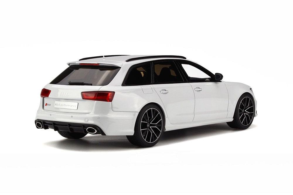 Коллекционная модель AUDI RS6 (C7) AVANT PERFORMANCE 2017 WHITE