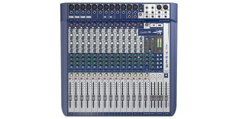 SOUNDCRAFT Signature 16 аналоговий мікшер