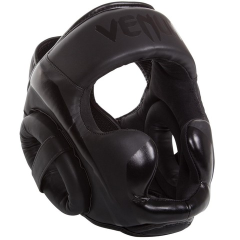 Шлем Venum Elite Headgear - Black