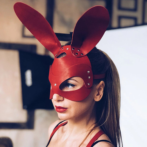 Isy Mo Маска Зайца (красный)