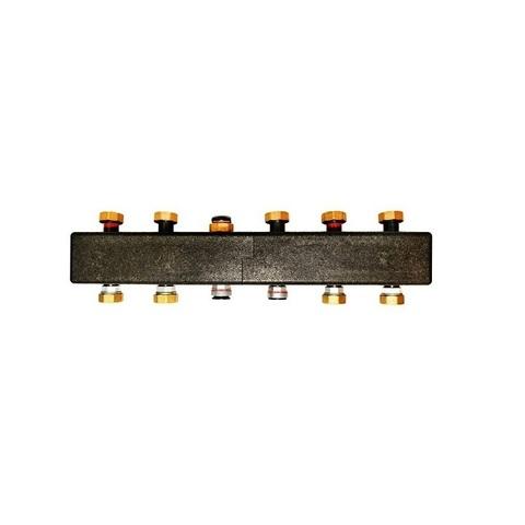Meibes ME 66301.31 коллектор на 3-5 отопительных контура с кронштейнами