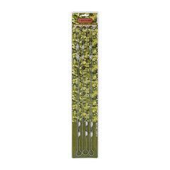 Набор плоских шампуров Boyscout 60 см 6 шт 61328