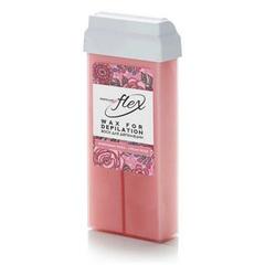 Italwax, Воск Flex в картридже, «Кремовая роза», 100 мл