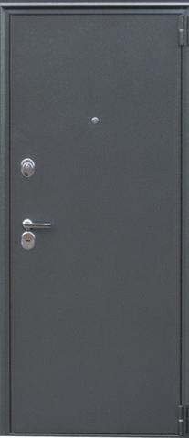 Дверь входная Н-4 стальная, дуб седой, 2 замка, фабрика Арсенал
