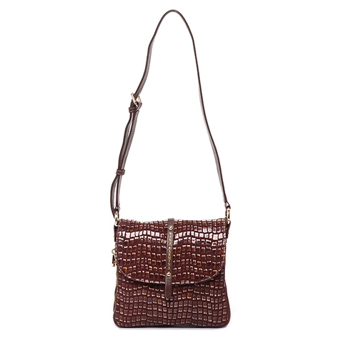 Женская сумка из кожи Nina Farmina NF 1212-126