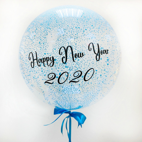 Прозрачный шар Happy New Year