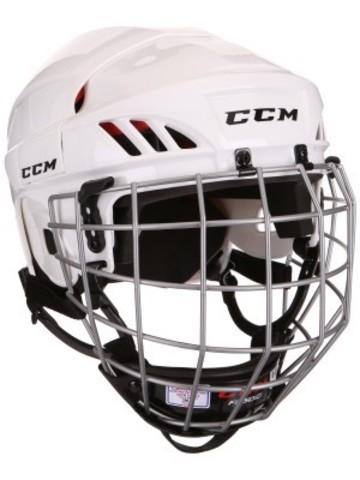 Шлем с маской CCM 50 L белый