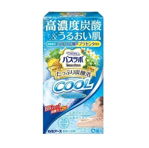 Соль для ванны аромат мяты, ананаса,  6 таб