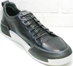 Осенние мужские кроссовки на каждый день Luciano Bellini C6401 TK Blue.