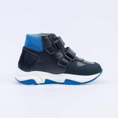 Ботинки син-серые, спорт