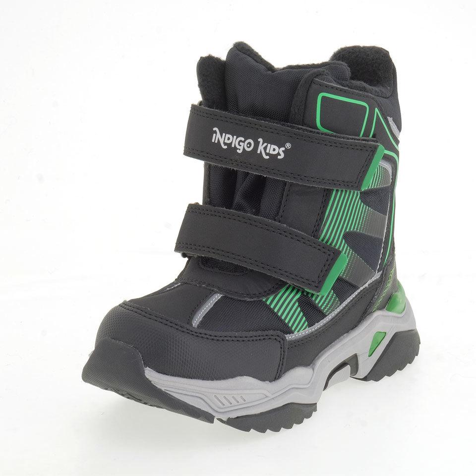 Ботинки INDIGO KIDS _ 75-0001С/10 черный
