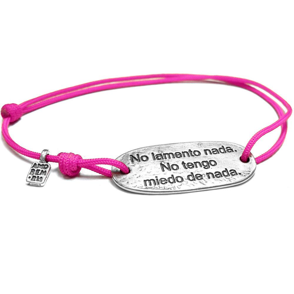 Spanish quote bracelet
