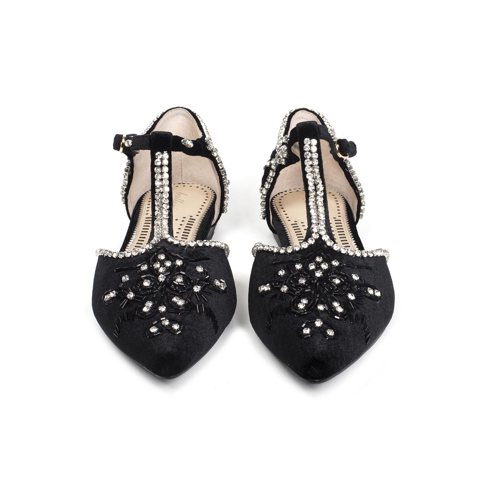 Туфли, Ballerina, Margaret (черный)