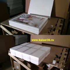Упаковка раковин