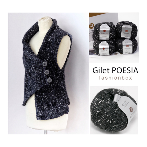 Gilet POESIA Fashionbox