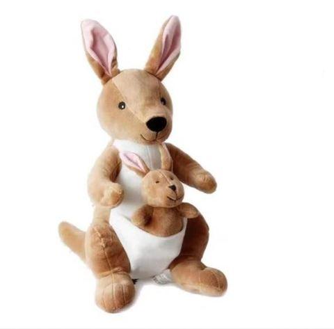 Кенгуру с малышом мягкая игрушка в ассортименте