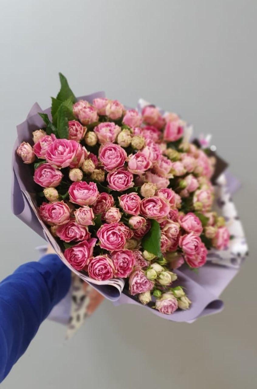 Букет кустовой розы (Б-117)
