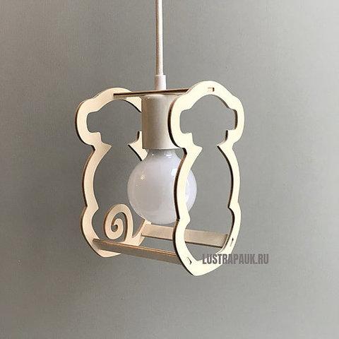 Подвесной светильник Wooden Zoo Monkey (Обезьянка)