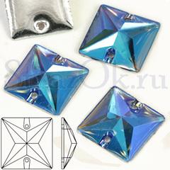 Купить пришивные кристаллы формы квадрат Square быстро