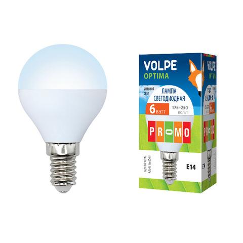 LED-G45-6W/DW/E14/FR/O картон