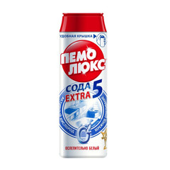 Универсальное чистящее средство Пемолюкс Экстра Ослепительно белый порошок 480 г