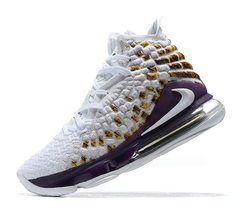 Nike LeBron 17 'White/Orange/Purple'