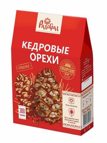 Ядро Кедрового ореха, 300 гр. (Радоград)