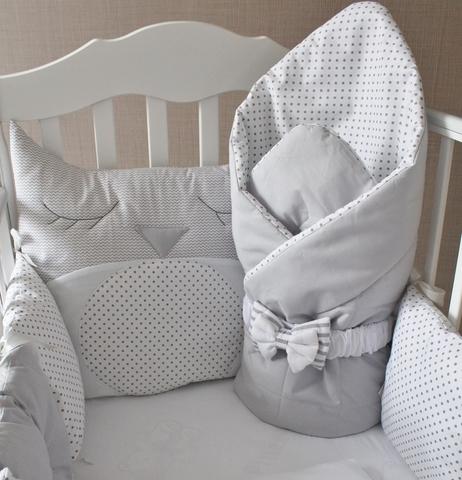 Комплект в кроватку Совунья, на 4 стороны кроватки