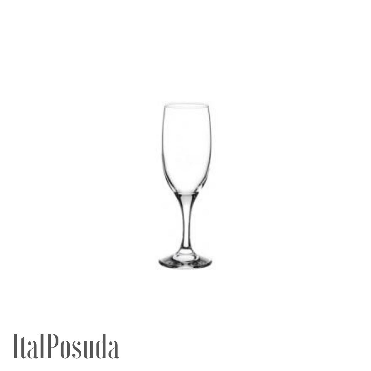 Набор фужеров для шампанского Pasabahce Bistro (Бистро), 6 шт BP44419